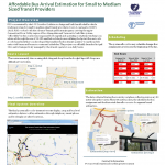 Affordable Bus Arrival Estimation Poster