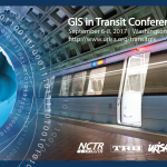 GIS in Transit Conference, September 6-8, 2017