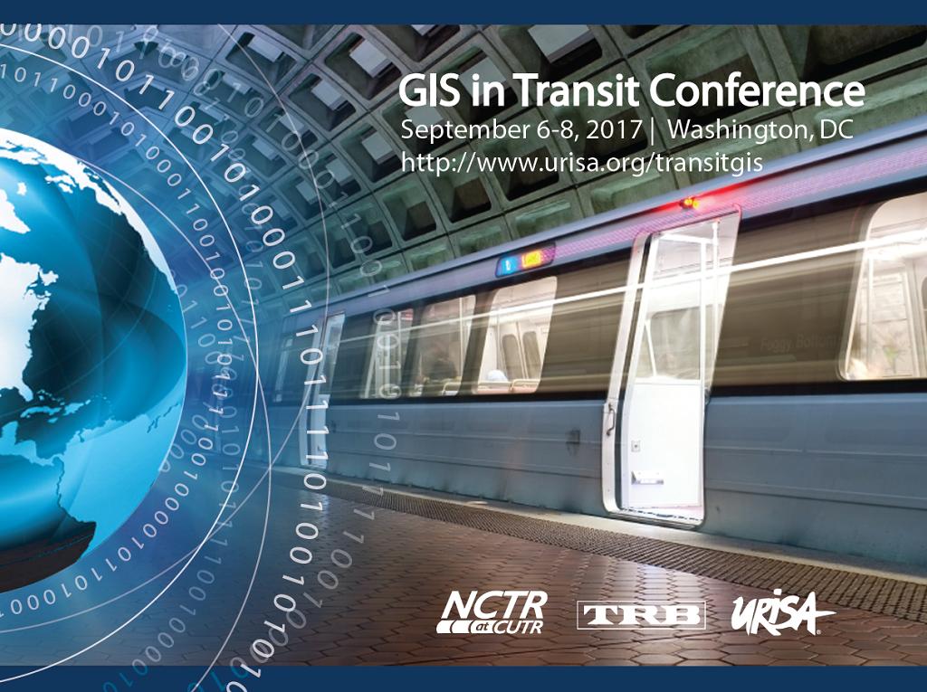 GIS in Transit Conference, September 6-8, 2017